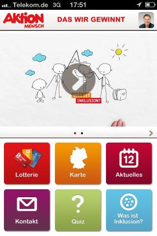Aktion Mensch-App