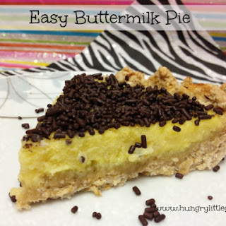 Easy Buttermilk Pie