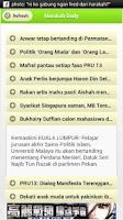 Screenshot of Harakah Daily