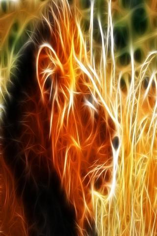 三維獅子 10