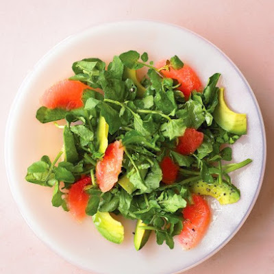 Grapefruit and Watercress Salad