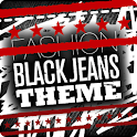 FASHION BLACK JEAN ADW THEME icon