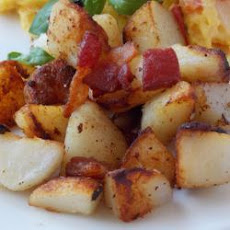 Pancetta Fried Potatoes