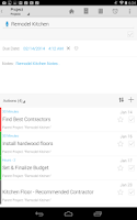 Screenshot of IQTELL Email app and GTD®
