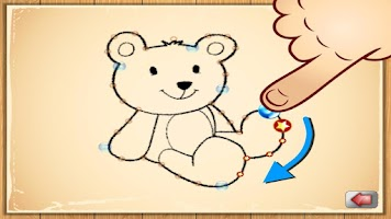 Screenshot of Dot To Dot Drawing 4 Toddlers