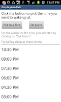 Screenshot of Sleep Time