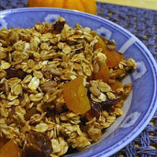 Baked Homemade Granola (Lower Fat)