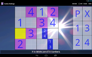 Screenshot of Sudoku Challenge HD