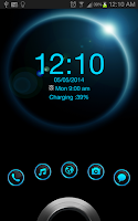 Screenshot of Eclipse HD Theme GO Locker