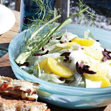Shaved Fennel Salad with Citrus and Olives