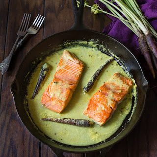 Salmon Cooked Coconut Milk Recipes