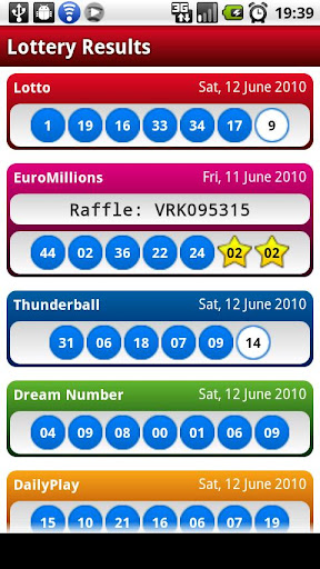 UK Lotto Lottery Results Free