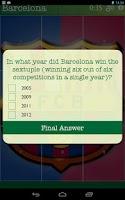 Screenshot of Soccer Logo Quiz Slide Puzzles