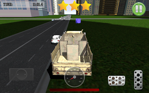 Army Truck Traffic Clasher - screenshot