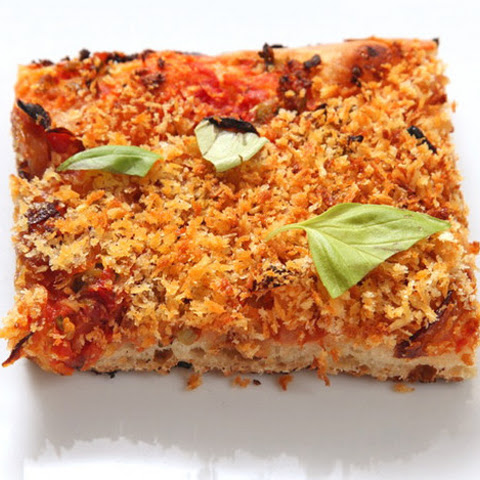 Easy Roasted Tomato Pizza With Basil Cashew Cheeze Recipes ...