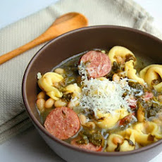 Tortellini And Kielbasa Soup (aka Our Favourite Soup)