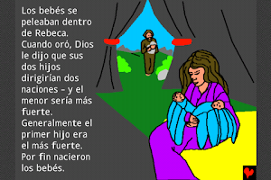 Screenshot of Comic Bible In Spanish