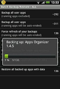 Titanium Backup ★ root Screenshot