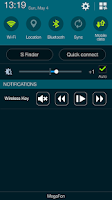 Screenshot of Wireless Key control panel