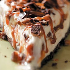 Caramel Toffee Ice Cream Pie
