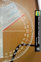 Screenshot of AR Protractor v3 각도기