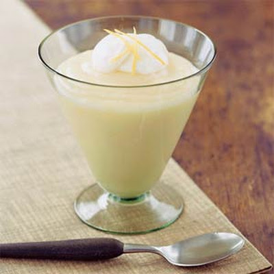 Old-Fashioned Creamy Lemon Pudding