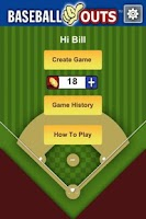 Screenshot of Baseball Outs
