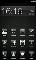 Screenshot of Crystal HD - ADW / LPP theme