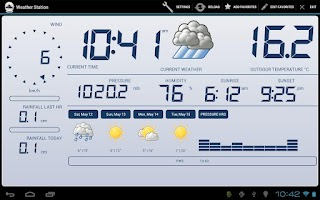Screenshot of Weather Station