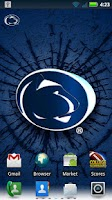 Screenshot of Penn State Revolving Wallpaper