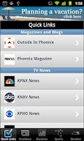 Screenshot of Phoenix Local News
