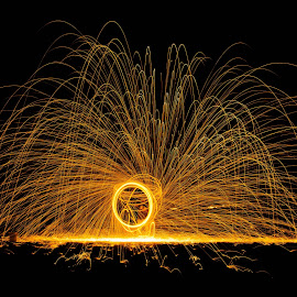 light painting by Uzair RIaz - Abstract Light Painting (  )
