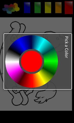 玩免費休閒APP|下載漫画のカラーテンプレート app不用錢|硬是要APP