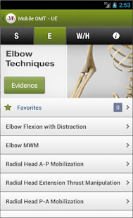 Mobile OMT Upper Extremity - screenshot
