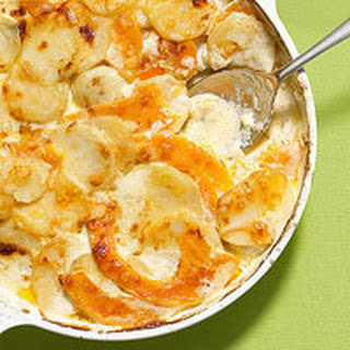 Scalloped Potatoes & Butternut Squash