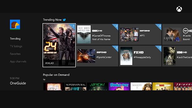 Microsoft has 46 new apps heading to Xbox One and Xbox 360 including Vine and Twitter