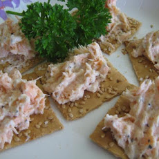 Salmon Spread With Two Ingredients