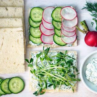 Cucumber Herb Sandwiches Recipes