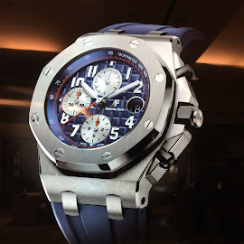 Watch out by Arul Sudarmani - Artistic Objects Clothing & Accessories ( watch dials, big watch, radium, watch, blue watch, dial, glow, watches,  )