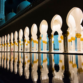 Sheikh Zayed Grand Mosque by Sarita Jithin - Buildings & Architecture Places of Worship