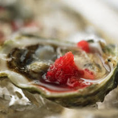 Oysters with Mignonette Granité Recipe