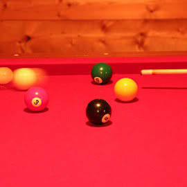 The Collision that controls the game! by Sarita Shetty - Sports & Fitness Cue sports ( game, cue )