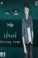 Screenshot of Edward Dress Up