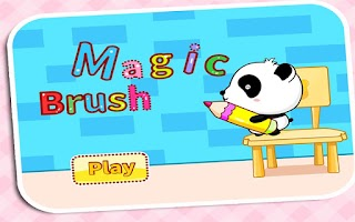 Screenshot of Magic Brush by BabyBus