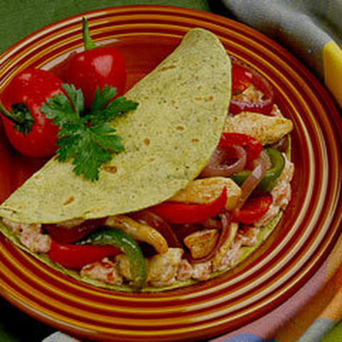 Fajita Chicken Roll Ups