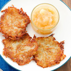 Slightly Adapted Mamo's Potato Pancakes