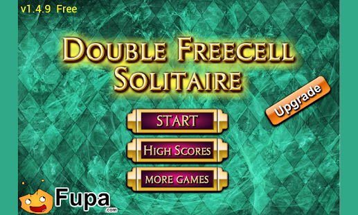 Double Freecell Solitaire Prm - screenshot