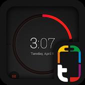 Free Download Dark Orange Theme APK for Samsung