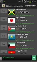 Screenshot of (QQ) Currency Converter