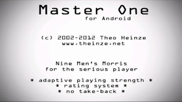 Screenshot of Master One Nine Men's Morris
